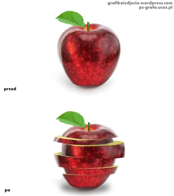 Efekt pokrojonego jabłka